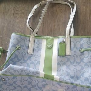 Oversized Coach bag